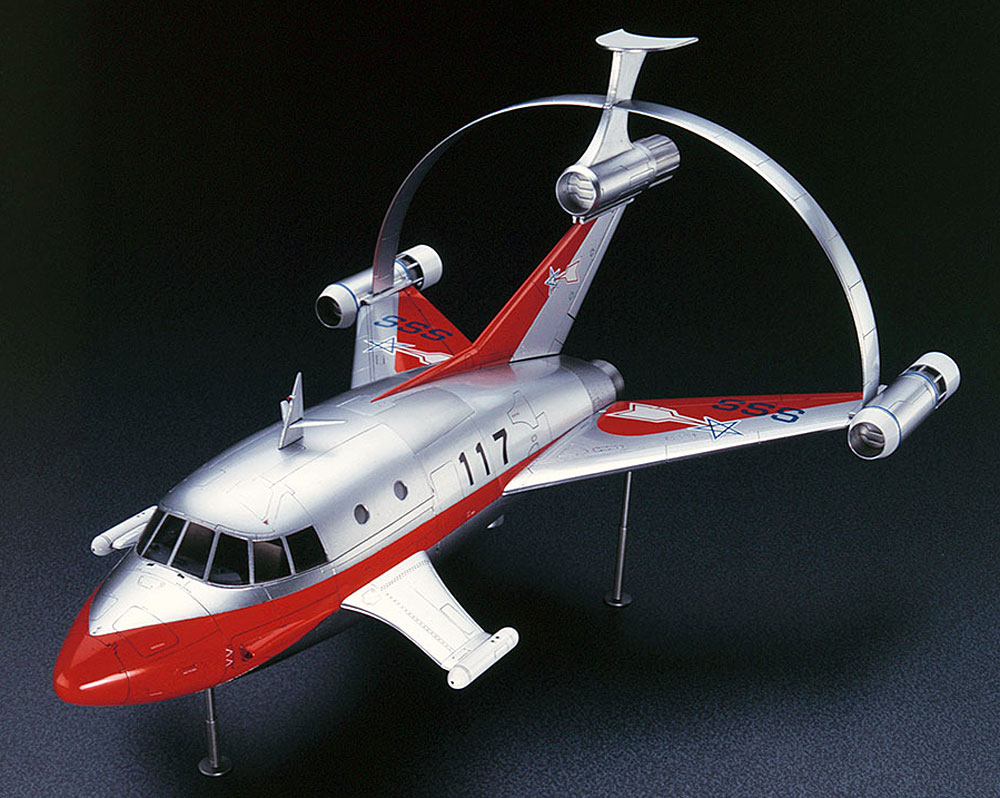 ジェットビートル w/ハイドロ ジェネード サブロケットプラモデル(ハセガワウルトラ シリーズNo.65812)商品画像_2