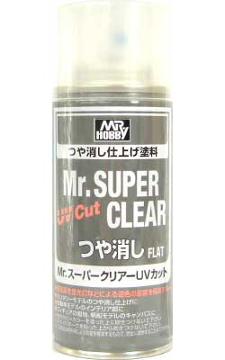 Mr.スーパークリアー UVカット (つや消し)(スプレー)スプレー(GSIクレオスMr.スーパークリアーNo.B-521)商品画像