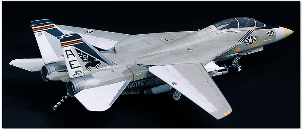 U.S. NAVY FIGHTER F-14A トムキャットプラモデル(アカデミー1/48 AircraftsNo.12253)商品画像_2