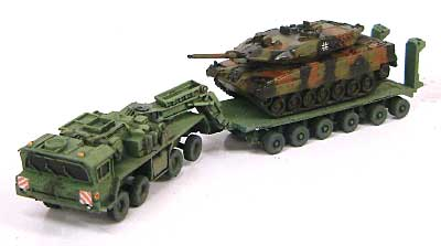 ファーン SLT50-3 エレファント 戦車輸送重トラクタートラックレジン(紙でコロコロ1/144 ミニミニタリーフィギュアNo.031)商品画像_3