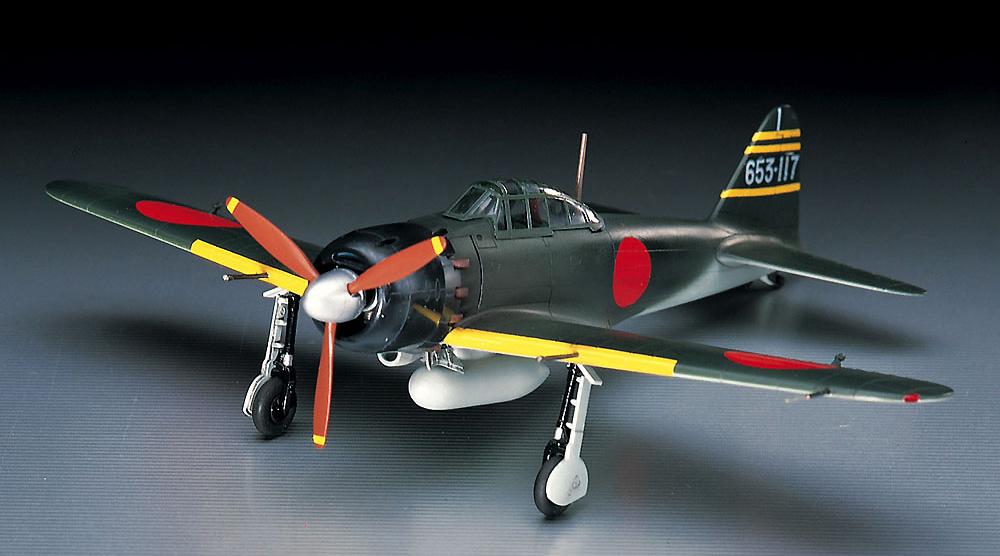 三菱 A6M5 零式艦上戦闘機 52型プラモデル(ハセガワ1/72 飛行機 DシリーズNo.D022)商品画像_2