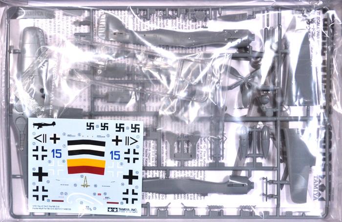 フォッケウルフ Fw190D-9プラモデル(タミヤ1/72 ウォーバードコレクションNo.051)商品画像_1