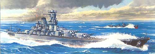 超弩級戦艦 武蔵 レイテ沖海戦時プラモデル(フジミ1/700 特シリーズNo.005)商品画像