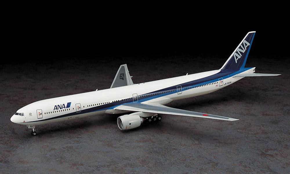 全日空 ボーイング 777-300プラモデル(ハセガワ1/200 飛行機シリーズNo.010)商品画像_2