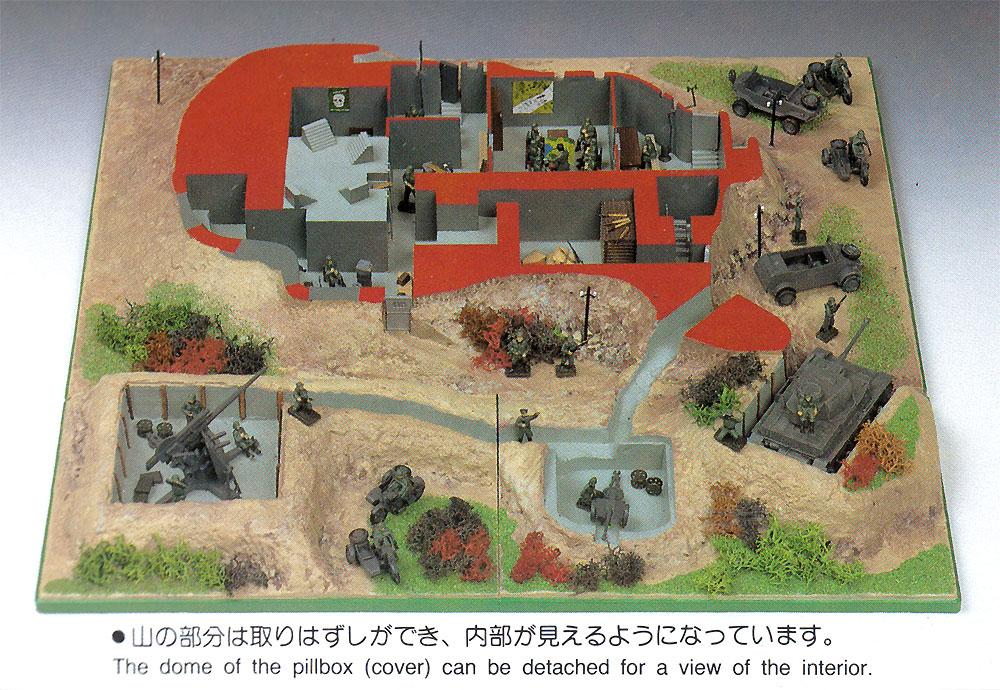 ミリタリー秘密指令基地 シェルタータイププラモデル(マイクロエース1/72 ミリタリーモデルシリーズNo.44481)商品画像_2