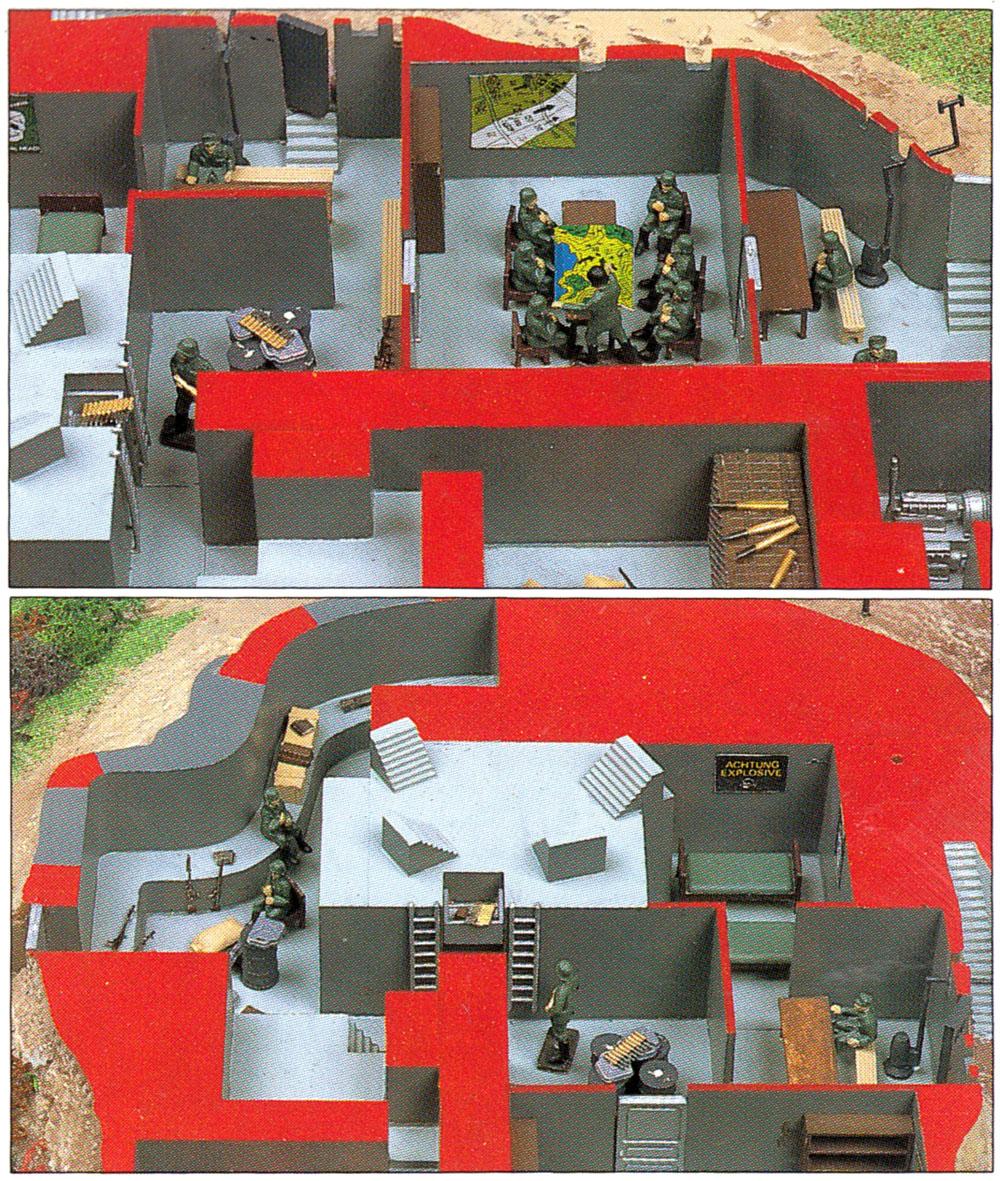 ミリタリー秘密指令基地 シェルタータイププラモデル(マイクロエース1/72 ミリタリーモデルシリーズNo.44481)商品画像_3