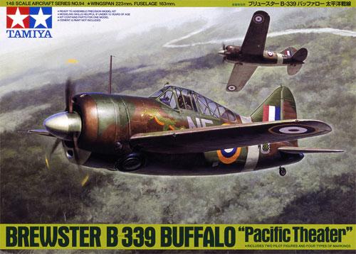 ブリュースター B-339 バッファロープラモデル(タミヤ1/48 傑作機シリーズNo.094)商品画像