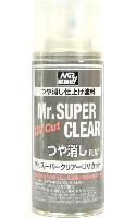 Mr.スーパークリアー UVカット (つや消し)(スプレー)