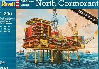 レベルプラスチックモデル海底油田 North Cormorant