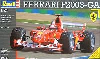 レベル1/24 F1モデルフェラーリ F2003 GA