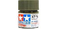 タミヤタミヤカラー アクリル塗料ミニXF-74 OD (オリーブドラブ)色 (陸上自衛隊)