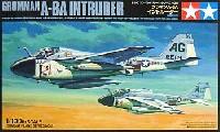 タミヤ1/100 コンバットプレーンシリーズグラマン A-6A イントルーダー