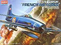 アカデミー1/48 Scale AircraftsF8F-1/2 ベアーキャット フランス空軍