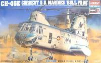 アカデミー1/48 Scale AircraftsCE-46E 米海兵隊ヘリコプター ブルフロッグ