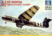 イタレリ1/72 航空機シリーズA.S.51 ホルサ Mk.1/Mk.2