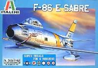イタレリ1/48 飛行機シリーズF-86E セイバー