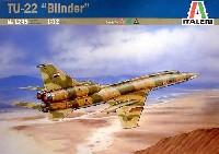 イタレリ1/72 航空機シリーズツポレフ Tu-22 ブラインダー