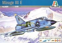 イタレリ1/48 飛行機シリーズミラージュ 3 E
