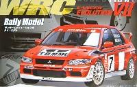 フジミ1/24 カーモデル(定番外・限定品など)ランサーエボリューション VII WRC