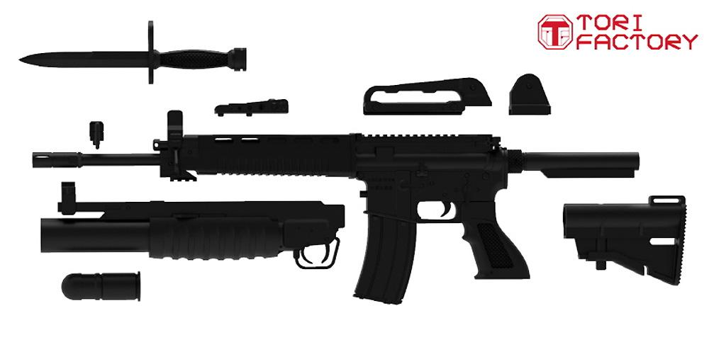 台湾 T91 アサルトカービンプラモデル(トリファクトリーGUN seriesNo.GUN-006)商品画像_1
