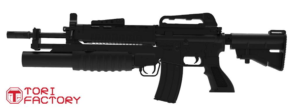 台湾 T91 アサルトカービンプラモデル(トリファクトリーGUN seriesNo.GUN-006)商品画像_3