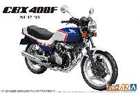 ホンダ NC07 CBX400F パールキャンディーブルー/パールシェルホワイト