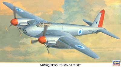 モスキート FB Mk.6 IDFプラモデル(ハセガワ1/72 飛行機 限定生産No.00739)商品画像