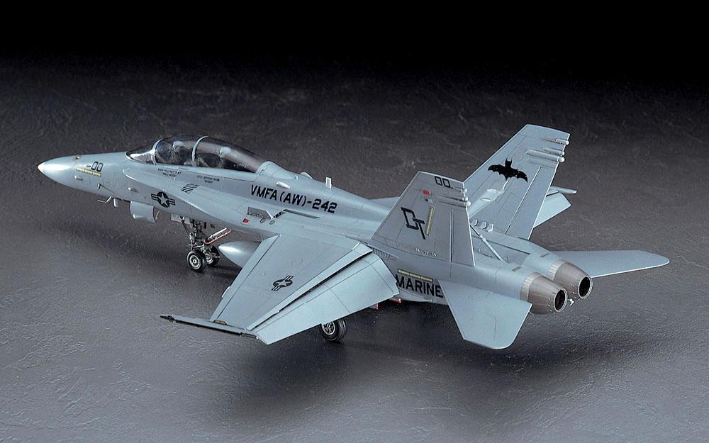 F/A-18D ホーネット ナイトアタックプラモデル(ハセガワ1/48 飛行機 PTシリーズNo.PT003)商品画像_2