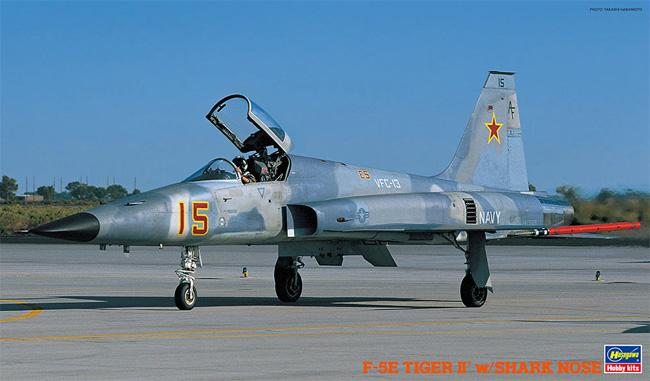 F-5E タイガー 2 シャークノーズプラモデル(ハセガワ1/32 飛行機 StシリーズNo.ST016)商品画像
