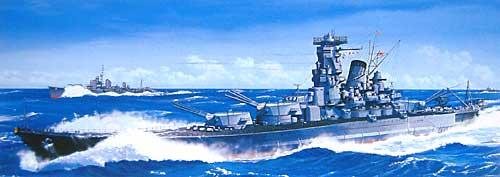 超弩級戦艦 武蔵 レイテ沖海戦時 甲板デカール付プラモデル(フジミ1/700 特シリーズNo.006)商品画像