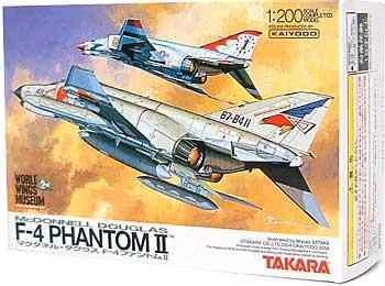 マクダネル・ダグラス F-4 ファントム 2完成品(タカラワールドウイングス ミュージアムNo.002)商品画像