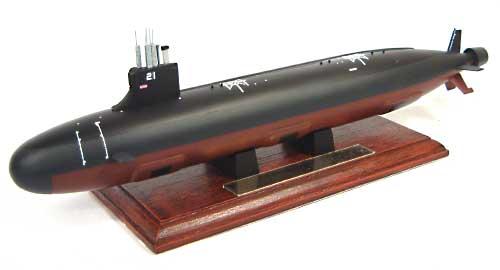 アメリカ海軍攻撃型原子力潜水艦 シーウルフ (塗装済完成品)完成品(ピットロード塗装済完成品モデルNo.CSM001)商品画像