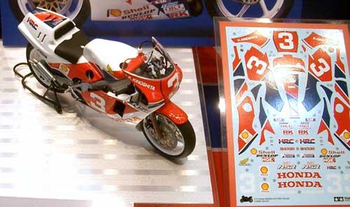 ホンダ NSR500 ファクトリーカラープラモデル(タミヤ1/12 オートバイシリーズNo.099)商品画像_2