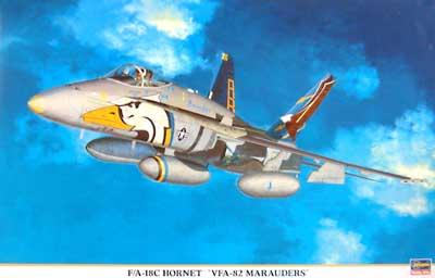 F/A-18C ホーネット VFA-82 マローダーズプラモデル(ハセガワ1/48 飛行機 限定生産No.09570)商品画像