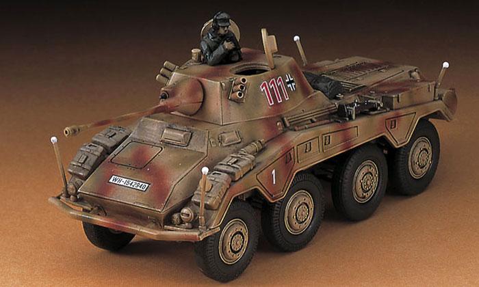 Sd.Kfz.234/2 8輪重装甲偵察車 プーマプラモデル(ハセガワ1/72 ミニボックスシリーズNo.MT052)商品画像_2