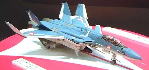 VF-0D デルタ翼複座型 マクロスゼロプラモデル(ハセガワ1/72 マクロスシリーズNo.018)商品画像_2