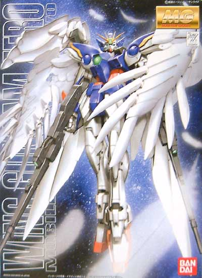XXXG-00W0 ウイングガンダム ゼロ (エンドレスワルツ版)プラモデル(バンダイMG (マスターグレード)No.0129454)商品画像