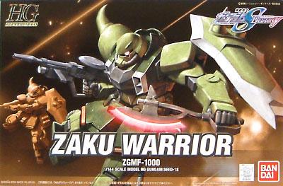 ZGMF-1000 ザク ウォーリアプラモデル(バンダイ1/144 HG ガンダムSEED ディスティニーNo.018)商品画像