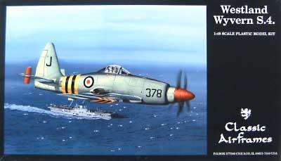 ウエストランド ワイバーン S.4プラモデル(クラシックエアフレーム1/48 ミリタリーエアクラフト プラモデルNo.491)商品画像