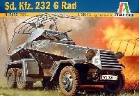 イタレリ1/35 ミリタリーシリーズSd.Kfz.232 6-RAD (6輪重装甲偵察車)