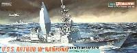 ドラゴン1/350 Modern Sea Power Seriesアメリカ海軍 U.S.S. アーサー W ラドフォード AEMSS 駆逐艦