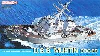 ドラゴン1/700 Modern Sea Power SeriesU.S.S. アーレイ・バーク級 イージス艦 マスティン DDG-89
