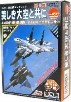 童友社1/144 現用機コレクション美しき大空と共に - JASDF 飛行教導隊 F-15DJ アグレッサー -