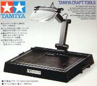 タミヤタミヤ クラフトツールワークスタンド (レンズ付工作台)