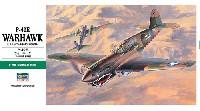 ハセガワ1/48 飛行機 JTシリーズP-40E ウォーホーク
