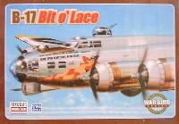 ミニクラフト1/144 軍用機プラスチックモデルキットB-17 BIT O' LACE