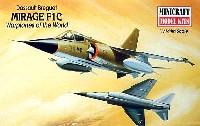 ミニクラフト1/144 軍用機プラスチックモデルキットミラージュ F1