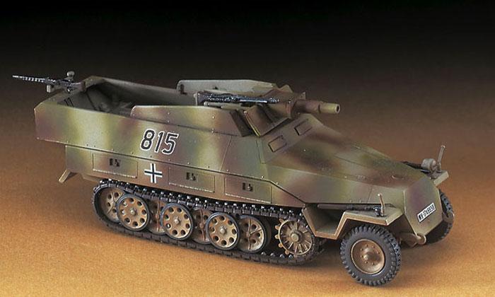 Sd.Kfz.251/9 シュツンメルプラモデル(ハセガワ1/72 ミニボックスシリーズNo.MT046)商品画像_3