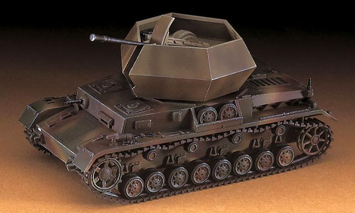 37mm 4号対空戦車 オストヴィントプラモデル(ハセガワ1/72 ミニボックスシリーズNo.MT047)商品画像_3