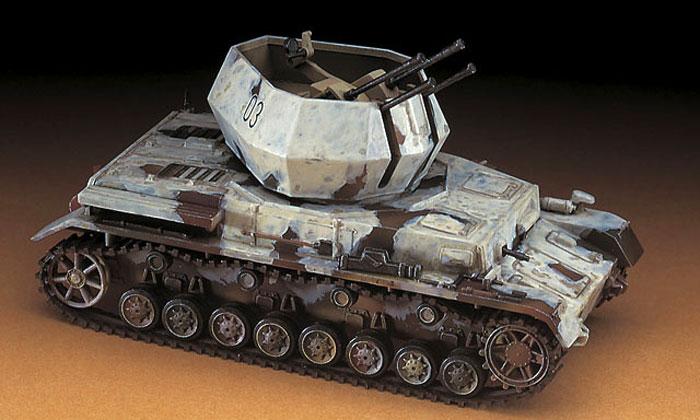 20mm 4連装4号対空戦車 ヴィルベルヴィントプラモデル(ハセガワ1/72 ミニボックスシリーズNo.MT048)商品画像_3